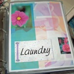 Household binder dividers